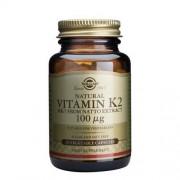 Solgar Vitamina k2 100 mcg 50 Cápsulas