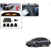 Auto Addict Car Black Reverse Parking Sensor With LED Display For Honda Civic