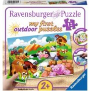 Puzzle RavensBurger Animale la Ferma 12 Piese