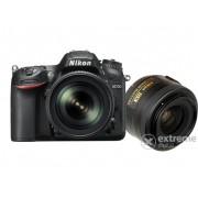Aparat foto Nikon D7200 kit (obiectiv 18-105mm VR + 35mm F1.8)