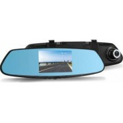 Pachet Oglinda Auto Retrovizoare cu Display 4.3 Inch Camera Video Marsarier si Camera Video DVR Full HD 1080 Vordon pent