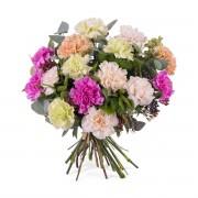 Interflora Ramo de claveles multicolor - Flores a Domicilio