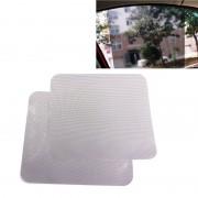 2 PC's auto Styling UV bescherming elektrostatische Stickers