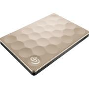 SEAGATE Externe harde schijf 1 TB Backup Plus Ultra Slim Goud (STEH1000201)