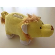 Huggie Banks Lion Bank Coin Bank For Boys And Girls Huggable Soft Plush Stuffed Animal Toy Teach Kids About Money Learning And Development Play And Learn We Are Happy To Offer A Piggy Giraffe Black Bear Elephant Moose Monkey Lady Bug Just Search Amazon Fo