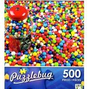Bubble Gum Machine with lots of Bubble Gum - 500 Piece Jigsaw Puzzle Puzzlebug