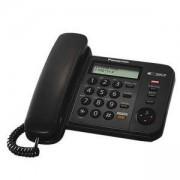 Стационарен телефон Panasonic KX-TS580FXB, черен 1010026