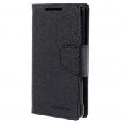 Capa tipo Carteira Mercury Goospery Fancy Diary para Sony Xperia Z5 Compact - Preto