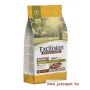 EXCLUSION ANCESTRAL LOW GRAIN ADULT COUNTRY PORK, LAMB AND EGGS MEDIUM BREED 2,5kg
