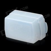 Difusor de Flash para Nikon SB-600 / SB-800 / YongNuo Configuracion YN462 / YN460II / YN465 flash - Blanco