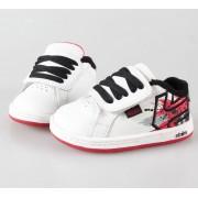 rövidszárú cipő gyermek - ETNIES - White/Grey/Red