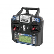 Radiocomando Flysky I6 + Ricevitore Ia6 - 2,4 Ghz (Compatibile Anche Con Mini Quadricottero Qx90)