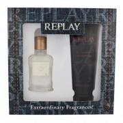 Replay Jeans Original! For Him подаръчен комплект EDT 30 ml + душ гел 100 ml за мъже