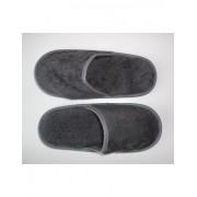 Zapatillas de baño en algodón peinado extra suave color anthracite - Portugal Natura