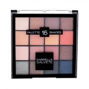 Gabriella Salvete Palette 16 Shades oční stín 20,8 g pro ženy