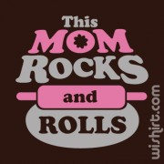 T-shirt This Mom Rocks