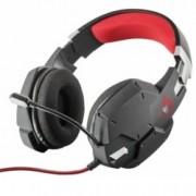Слушалки Trust GXT 322, микрофон, 112 dB, 3.5 mm jack, черни