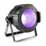 Professional COB 100UV PAR Faro UV-LED 100W DMX- o Standalone nero