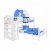 Dečiji krevet na sprat Emil Beli Space