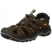 KEEN Men s Rialto Sandal Bison/Black 8 D(M) US