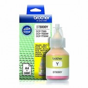 Brother BT5000Y Genuine Ink Bottle Yellow colour For T300 T500 T700W T800W Printers (Yellow0