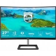 Philips E Line 272E1CA/00 LED display 68,6 cm (27 ) Full HD LCD Gebogen Mat Zwart