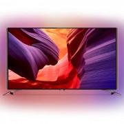 Philips 55PUS8601/12 Ultra HD, DVB-T2/C/S, Android TV, Ambilight 4, Perfect Pixel UHD, 2600 PPI, 50 W, Dark Chrome