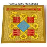 Astrology Goods Kaalsarp Yog Yantra - Gold Plated 25401