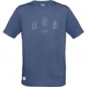 Norrøna Svalbard Wool T-shirt Men Blå