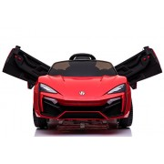 Toyhouse Fast n Furious Lykan Hypersport Car Rechargeable Battery Operated Ride-on for kids(2 to 7yrs) , Red