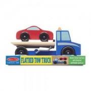 Дървено автовозче Melissa and Doug, 000772145435