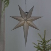 Ozen paper star with a long tail