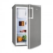 CoolZone 120 Eco Combo Frigo e Freezer 118 l A+++ Look Acciaio Inox