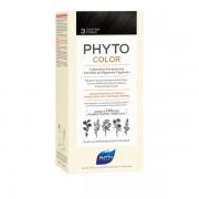 Ales Groupe Italia Spa Phyto Phytocolor 3 Castano Scuro 1 Latte + 1 Crema + 1 Maschera + 1 Paio Di Guanti