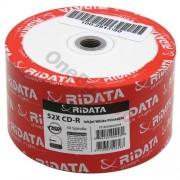 CD-R RiData 700 Mb 52X (Printable) - 50 бр. в шпиндел