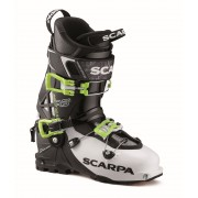 Scarpa Maestrale RS 2 - White/Black/Lime - Chaussures de ski 31,5