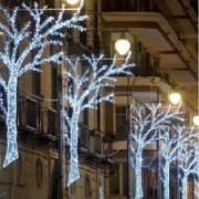 > LED - stringa prolungabile 120 led bianco caldo