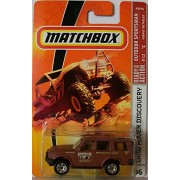 Mattel Matchbox 2007 Mbx Outdoor Adventure 1:64 Scale Die Cast Metal Car #96 Brown Color Outback Adventures Sport Utility Vehicle Suv Land Rover Discovery