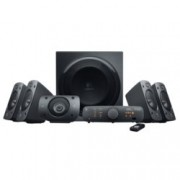 Aудио система Logitech Z906, 5.1, 500W (165W + 5x67W), 2x optical input, дистанционно, черна