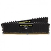 DDR4, KIT 32GB, 2x16GB, 3600MHz, CORSAIR Vengeance LPX Black Heat spreader, 1.35V, CL18 (CMK32GX4M2Z3600C18)