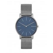 メンズ SKAGEN DENMARK SIGNATUR 腕時計 スチールグレー