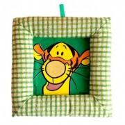 Tablou textil pentru perete Disney Tigru, carouri verde
