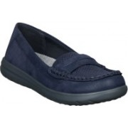Clarks Loafers For Women(Navy)