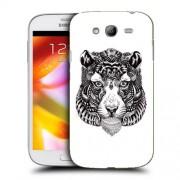 Husa Samsung Galaxy Grand Neo i9060 i9080 i9082 Silicon Gel Tpu Model Tiger Abstract