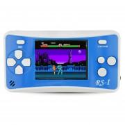 RS - 1 Retro Videoconsola Portatil De 8 Bits, Color Verdadero Pantalla LCD De 2,5 Pulgadas, Construido En 152 Tipo Juegos (azul)