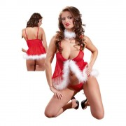 210th Cottelli Collection Xmas Babydoll - S