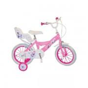 "Bicicleta 14"" Minnie Mouse Club House, fete"