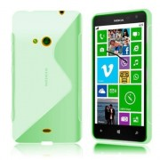 Coque Tpu Type S Pour Nokia Lumia 630 / 635 - Vert