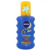 Nivea Sun Kids latte in spray solare SPF50+ 200 ml per bambini