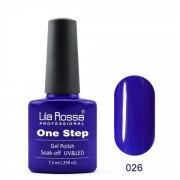 Oja semipermanenta OneStep Lila Rossa Professional 7.3ml OLROS026